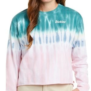 NWT Dickies Cropped Tie-dyed T-Shirt